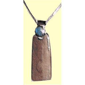 Chukchi Warrior-Woman's Amulet  With Opal