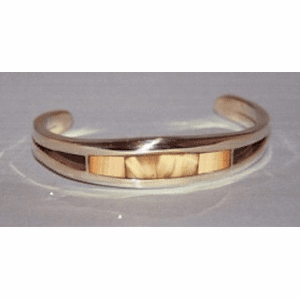 Classic Fossil Ivory Cuff  Bracelet