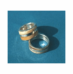 Double Ivory Wedding Ring or Committment Band Out of Stock