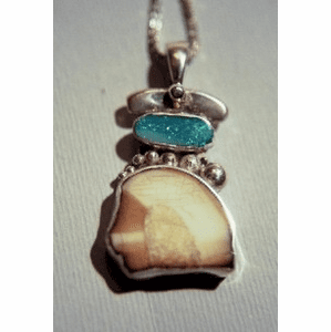 Kodiak Island Talisman With Opal