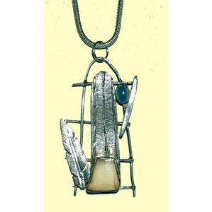 Koniaq Happiness Talisman With Opal