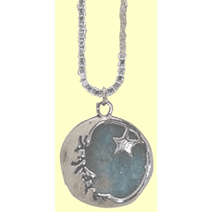 Moon and Morning Star Amulet