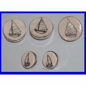 Scrimshaw Jewelry and Nautical Accessories Collection