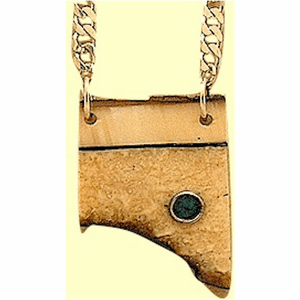 Shaman's Dream Lock Amulet X  With Opal And Rosewood