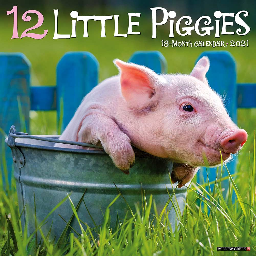 2021 12 Little Piggies Calendar