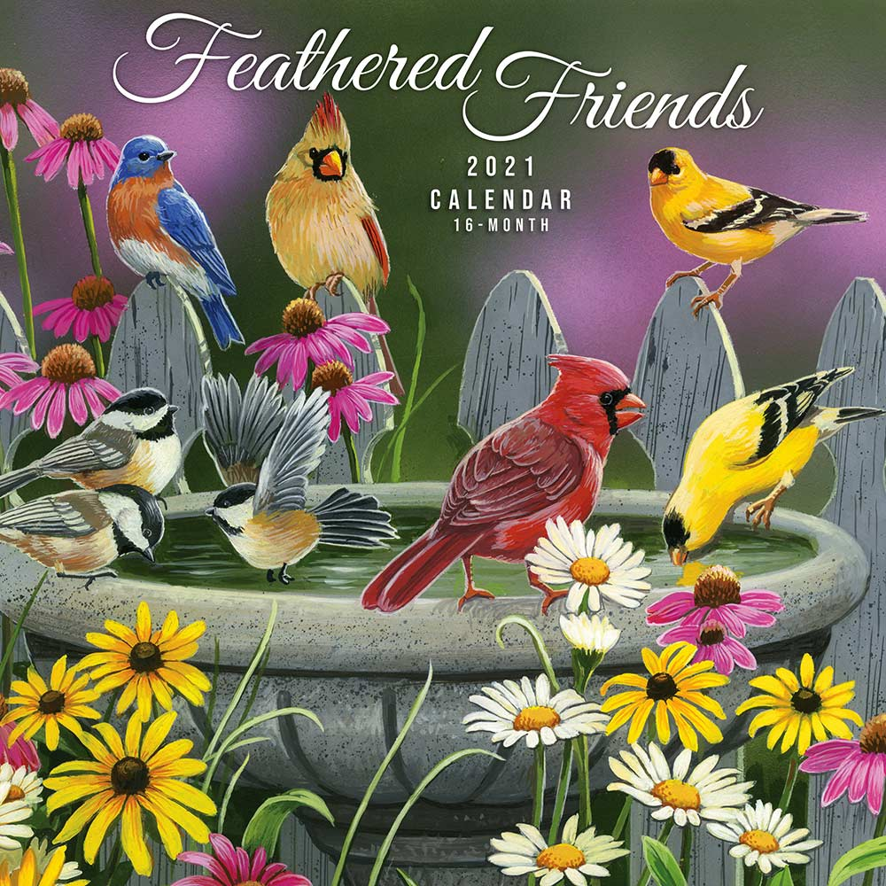 2021 Feathered Friends Calendar