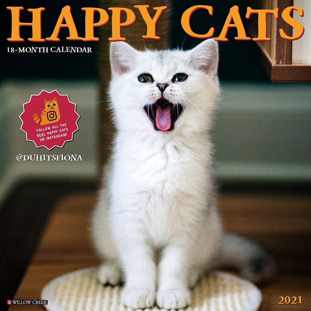 2021 Happy Cats Calendar