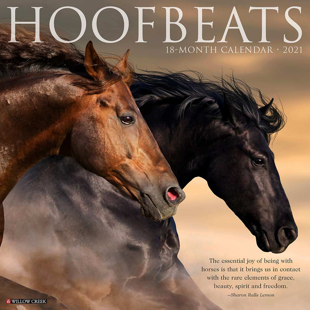 2021 Hoofbeats Calendar Willow Creek