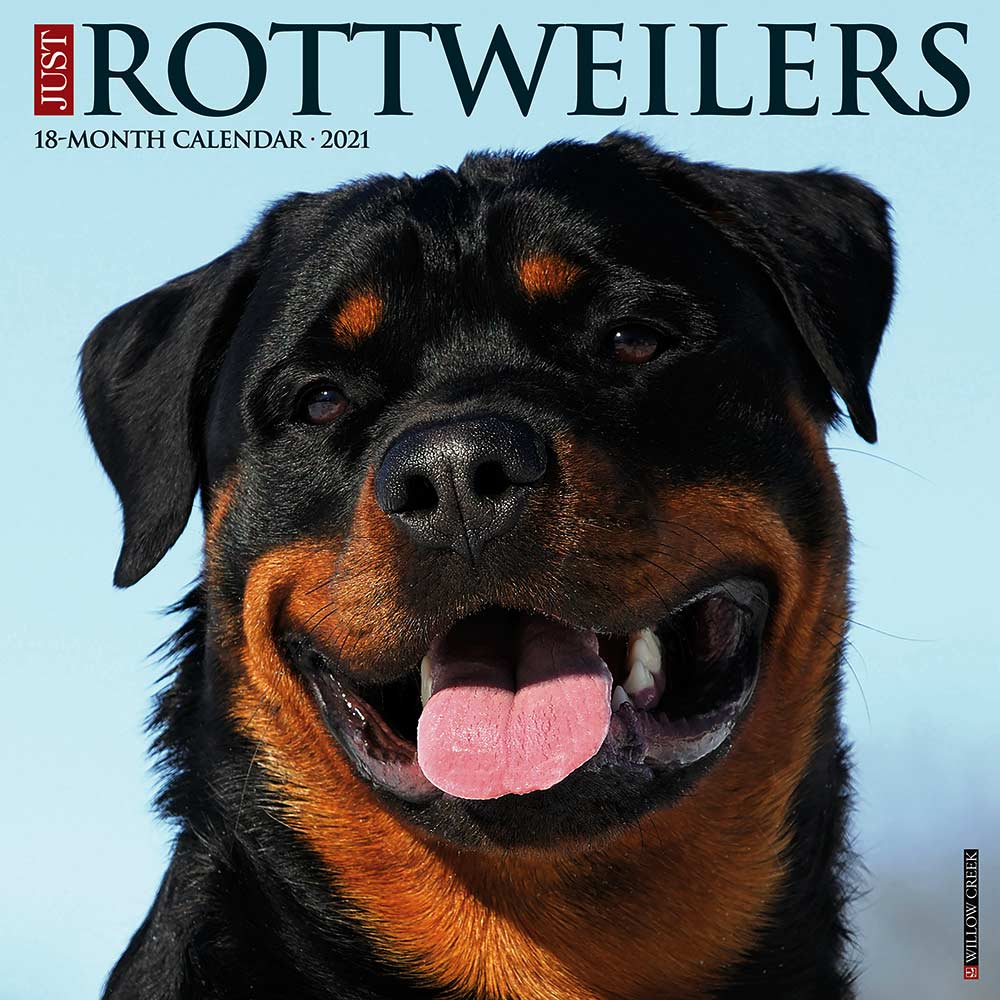 2021 Rottweilers Calendar Willow Creek