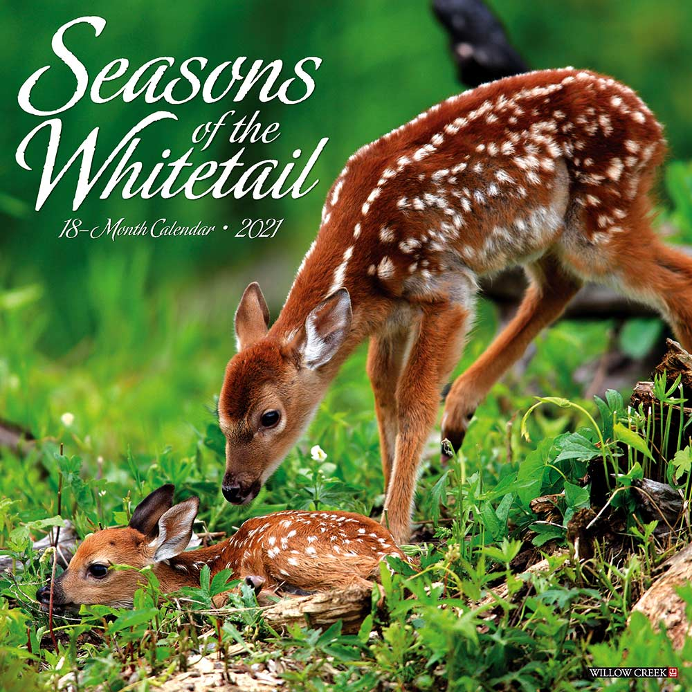 2021 Seasons of the Whitetail Calendar Willow Creek