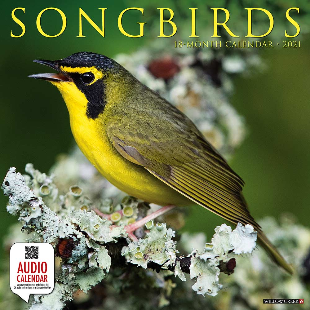 2021 Songbirds Calendar Willow Creek