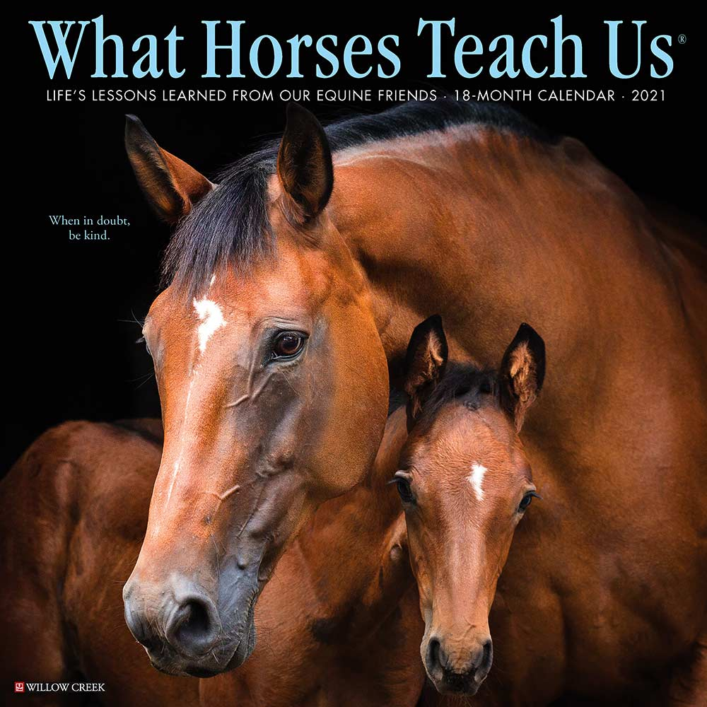 2021 What Horses Teach Us Calendar