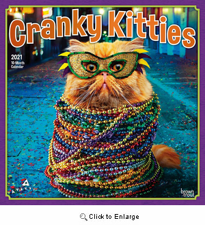 2021 Cranky Kitties Calendar
