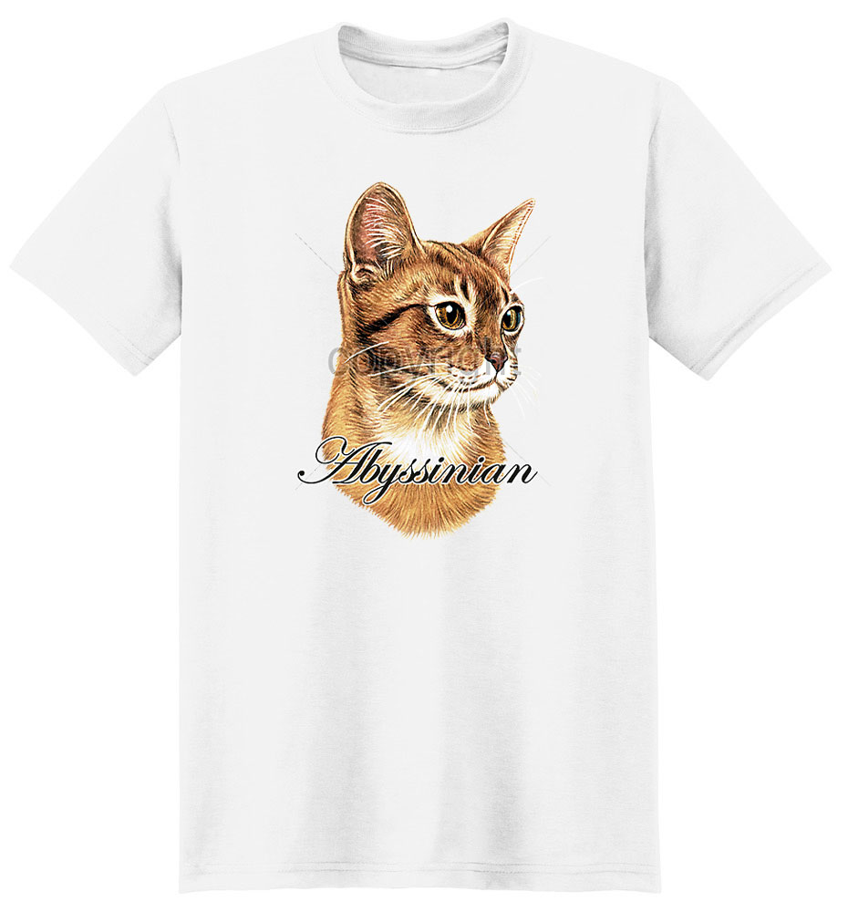 Abyssinian Cat T Shirt True To Life