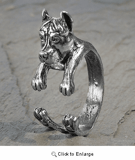 Adjustable Wrap Pit Bull Ring