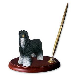 Afghan Hound Pen Holder