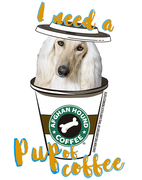 Afghan Hound T Shirt - Coffee Mug