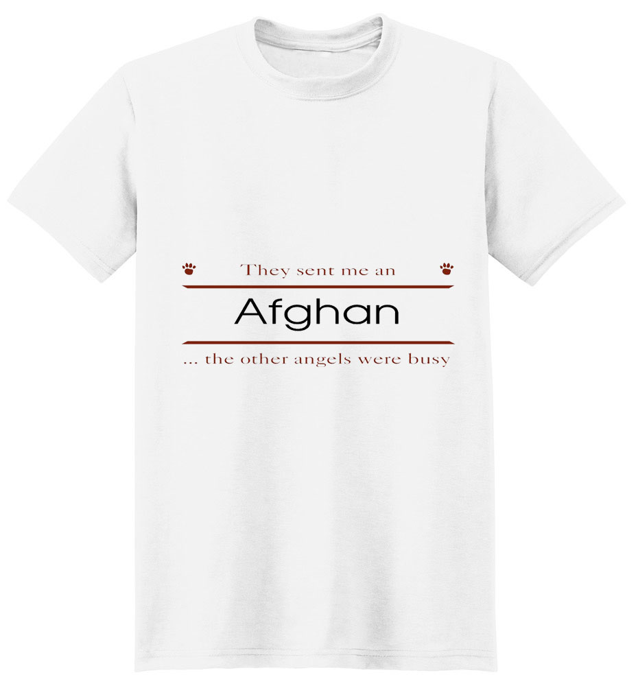 Afghan Hound T-Shirt - Other Angels