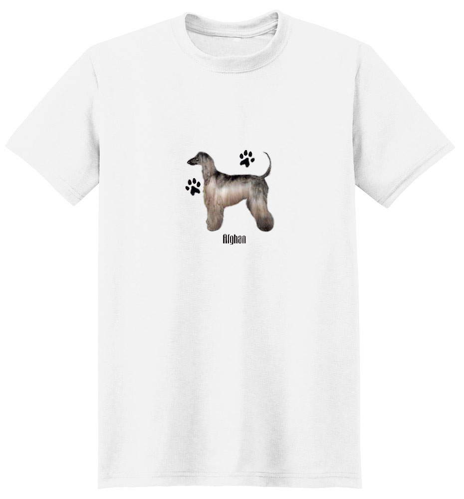 Afghan Hound T-Shirt - Profiles