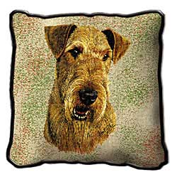 Airedale Terrier Pillow