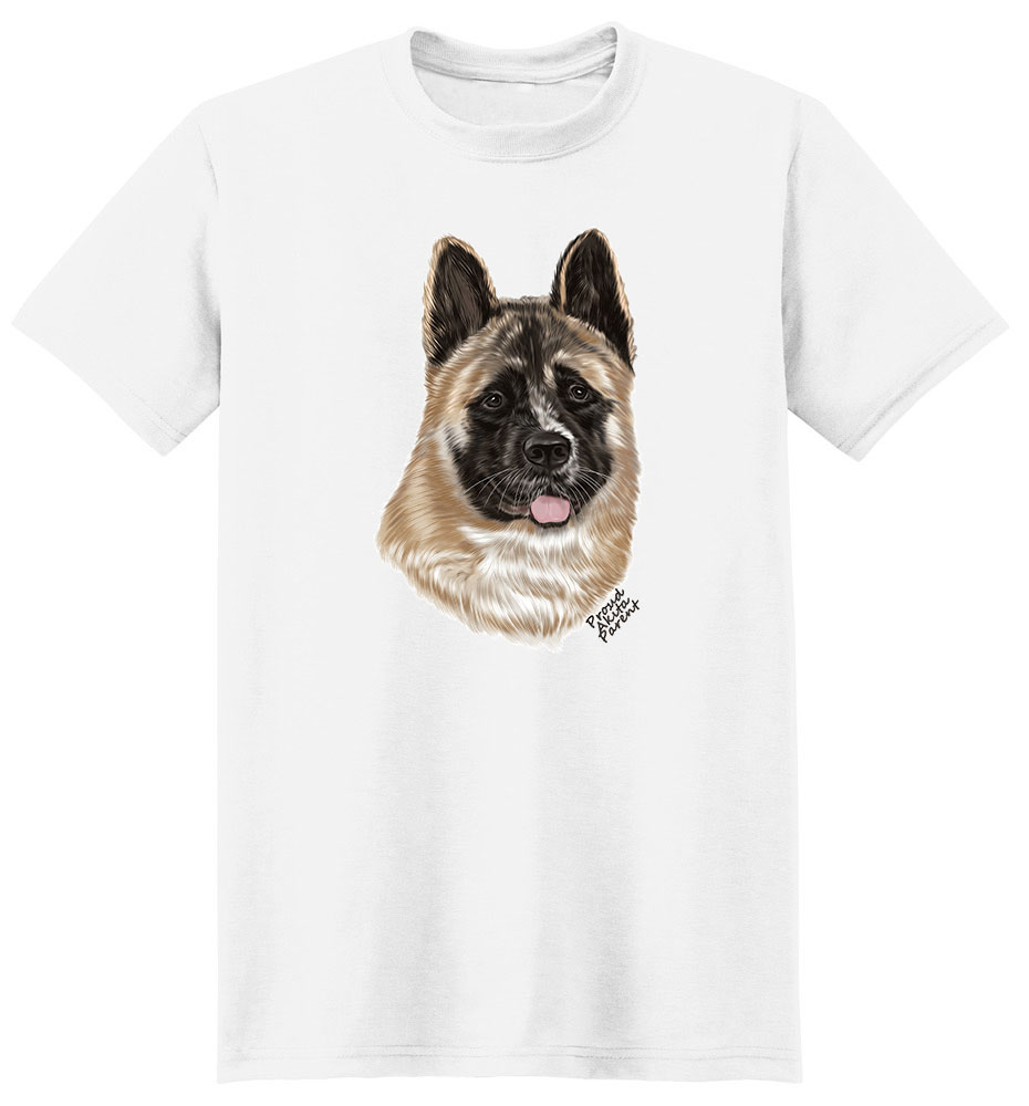 Akita T Shirt - Proud Parent