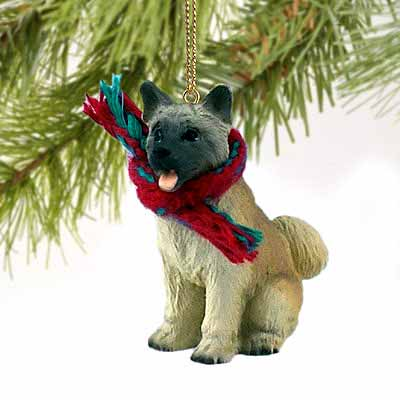 Akita Tiny One Christmas Ornament Fawn