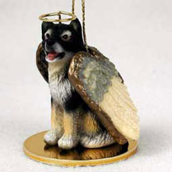 Alaskan Malamute Christmas Ornament Angel
