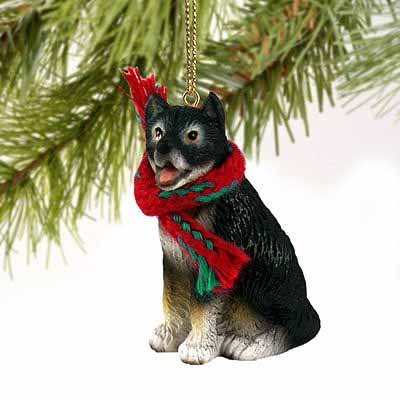 Alaskan Malamute Tiny One Christmas Ornament