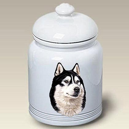 Alaskan Malamute Treat Jar