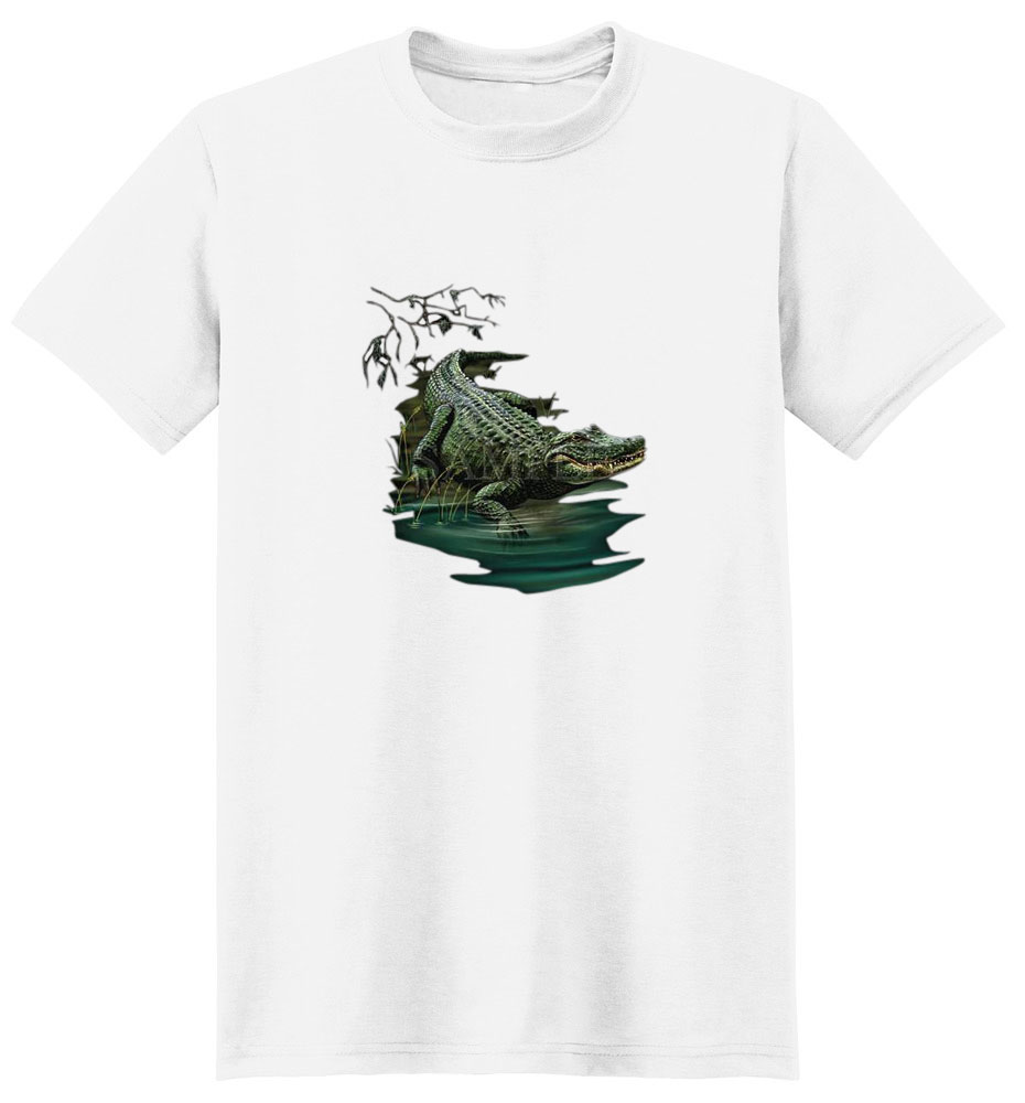 Alligator T-Shirt - Vibrant and Eye Catching