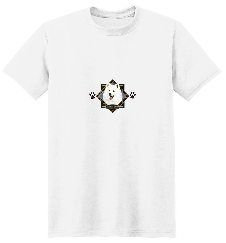 American Eskimo Dog T-Shirt - Diamond Collection