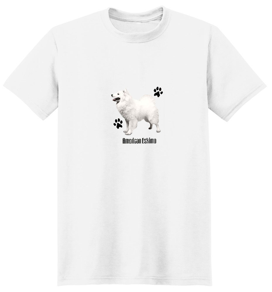 American Eskimo Dog T-Shirt - Profiles