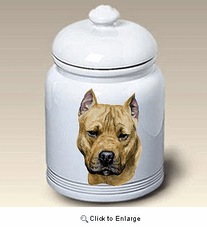 American Staffordshire Terrier Treat Jar