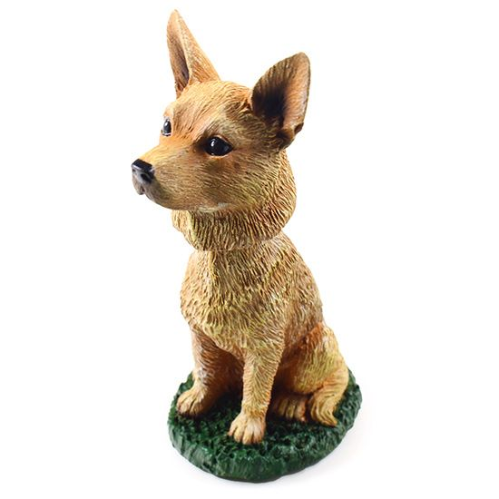 Australian Cattle Dog Bobblehead Red