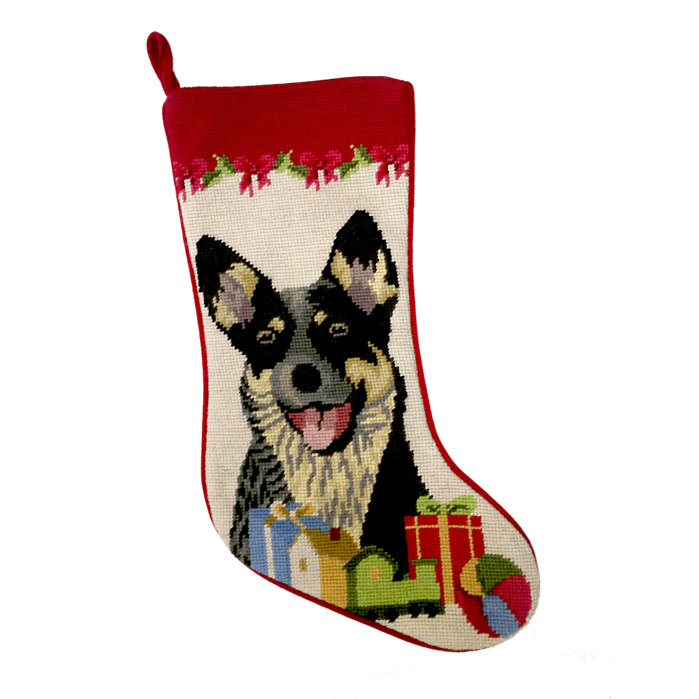 Australian Cattle Dog Christmas Stocking
