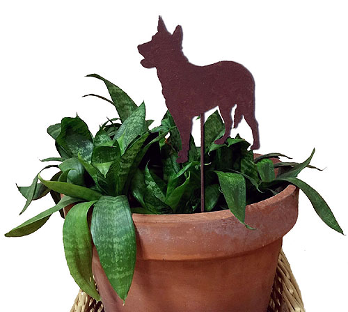 Australian Cattle Dog Plant Stake