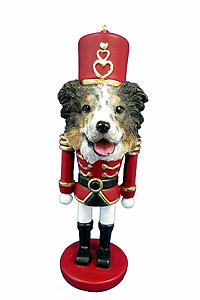 Australian Shepherd Ornament Nutcracker