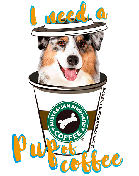 Australian Shepherd T Shirt - Coffee Mug