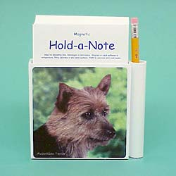 Australian Terrier Hold-a-Note
