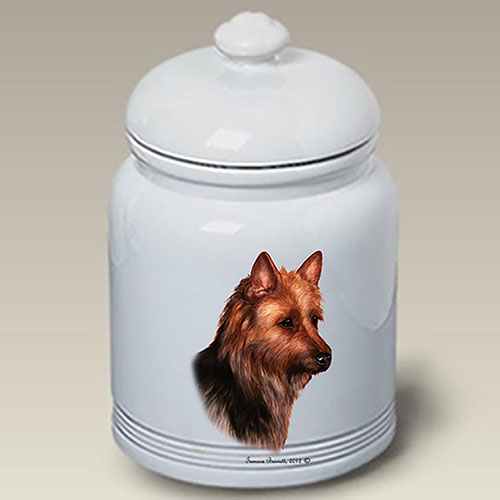 Australian Terrier Treat Jar