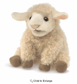 """Baby"" Sheep Hand  Puppet 6"""