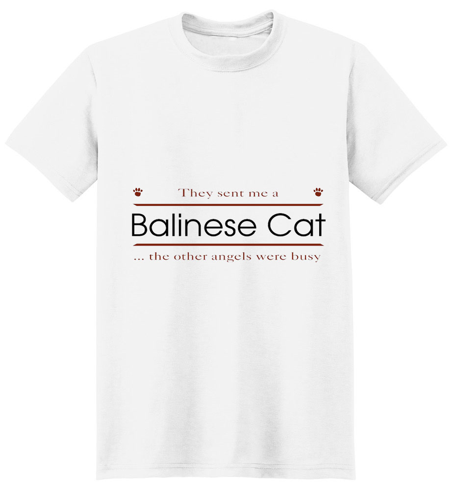 Balinese Cat T-Shirt - Other Angels