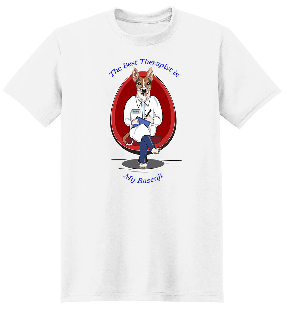 Basenji T Shirt Best Therapist