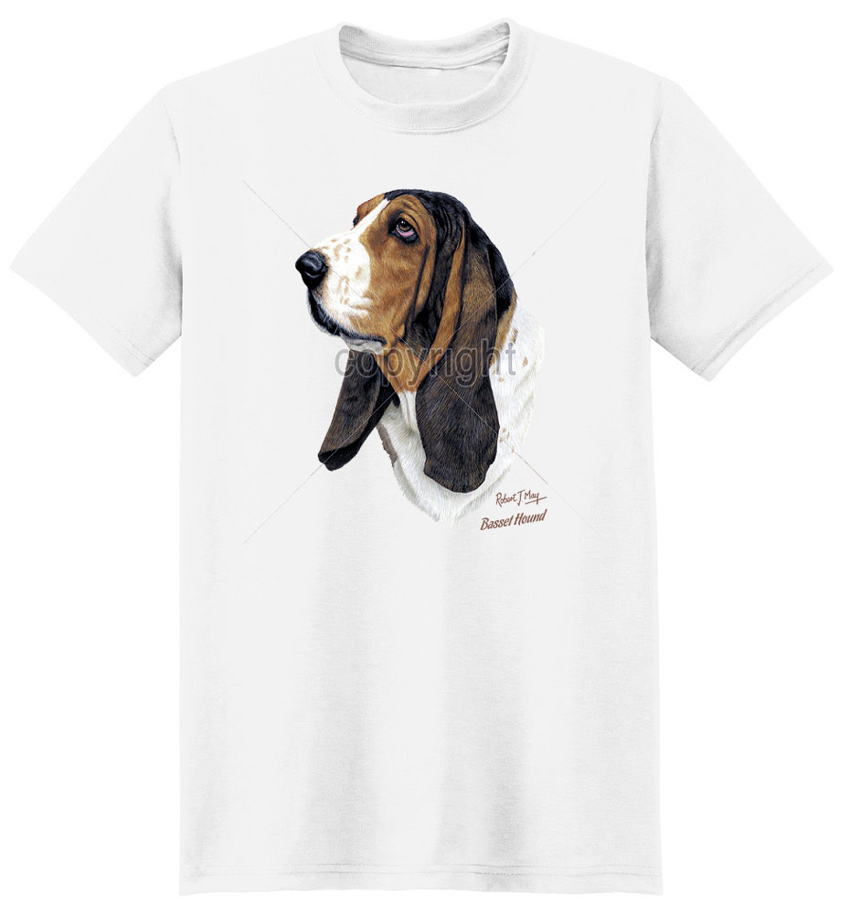 Basset Hound T Shirt by Robert May
