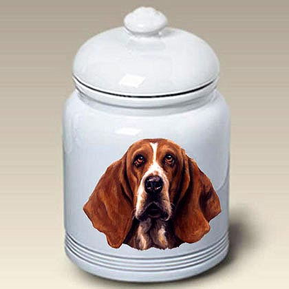 Basset Hound Treat Jar