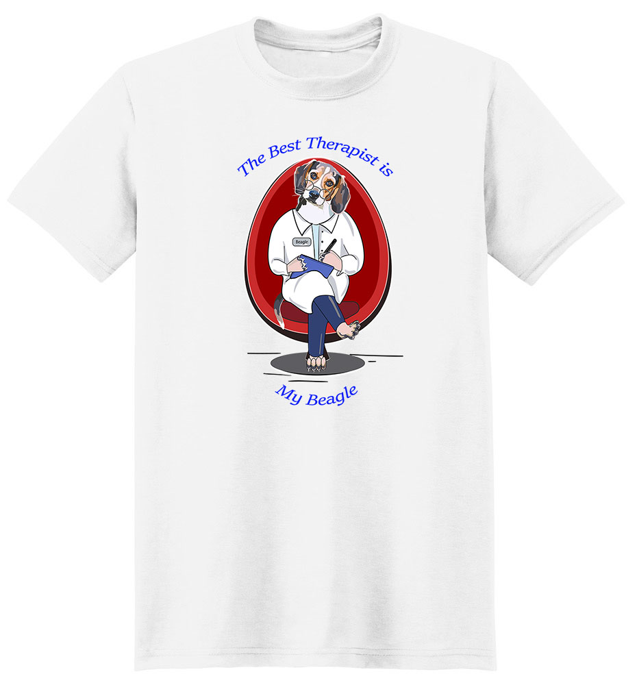 Beagle T Shirt Best Therapist