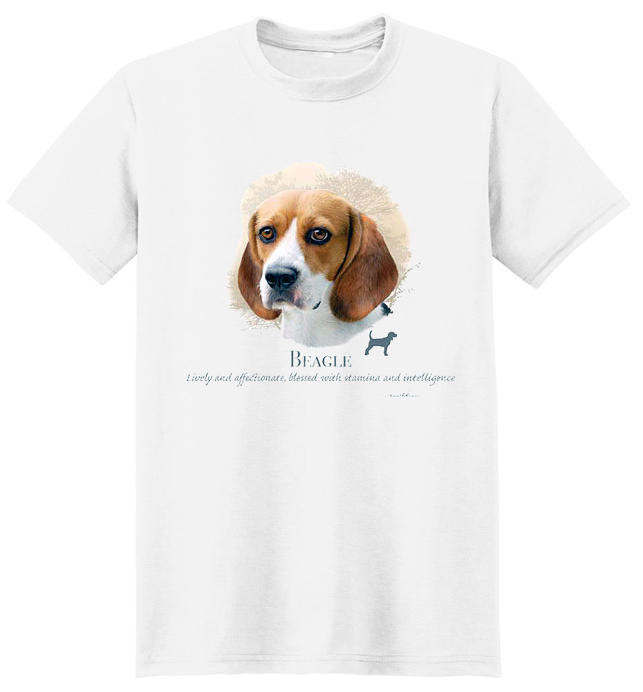 Beagle T Shirt by Howard Robinson
