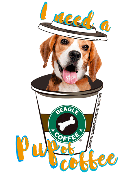 Beagle T Shirt - Coffee Mug