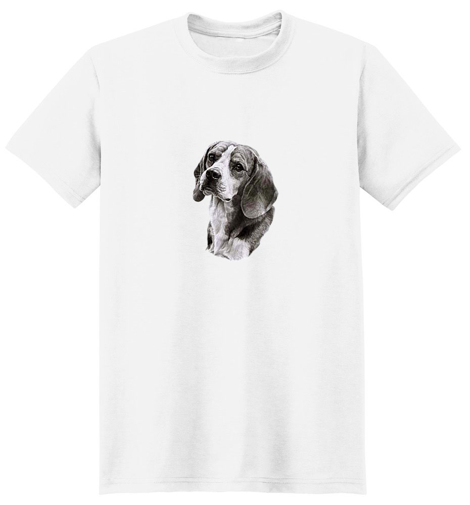 Beagle T-Shirt - Eye Catching Detail