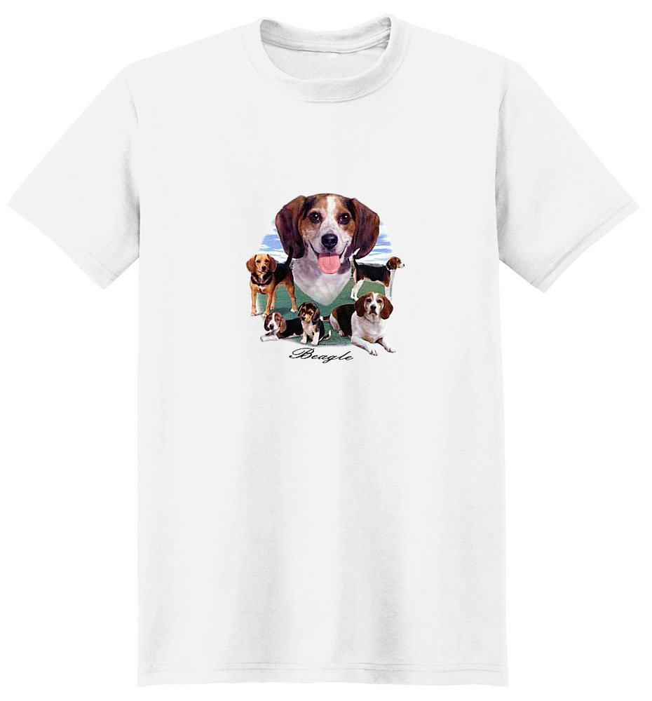 Beagle T-Shirt - Lawn Dogs